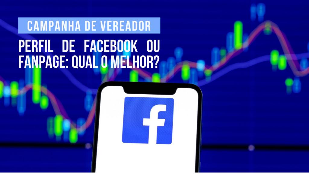 Facebook ou fanpage candidato a vereador